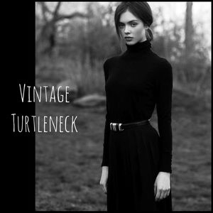 Vintage Turtleneck Sweater